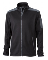 Herren Strick-Fleece Jacke | James & Nicholson | JN 591