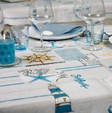 Tischdecke Riviera  Grösse 100 x 100 cm