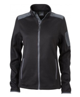 Damen Strick-Fleece Jacke | James & Nicholson | JN 590