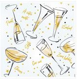 Servietten Airlaid - Cheers 95213