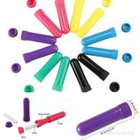 Etherische olie Aromatherapie Complete lege nasale inhalator veel kleurig