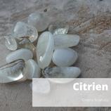 Citrien trommel Crystal Grid 4 st