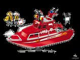 Playmobil Action Feuerwehrboot mit Pumpe (3128)