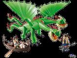 Playmobil Dragons Raffnuss und Taffnuss mit Kotz und Würg (9458)