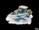 Playmobil Family Fun Ausflug mit Sportboot (6981)
