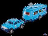 Playmobil Family Fun Pick-Up mit Wohnwagen (9502)