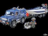 Playmobil City Action Polizei-Truck mit Speedboot (5187)