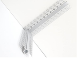Profilo led angolo 90 gradi parete soffitto cm 20x20