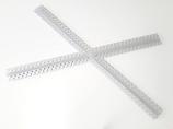 Profilo led croce inclinata angolo 30 gradi cm 71x71