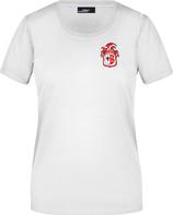 Weißes KAMIPO T-Shirt Damen