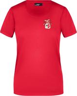 Rotes KAMIPO T-Shirt Damen