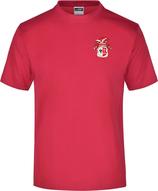 Rotes KAMIPO T-Shirt Herren