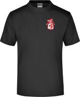 Schwarzes KAMIPO T-Shirt Herren