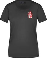Schwarzes KAMIPO T-Shirt Damen