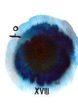 XVIII The Moon | Der Mond