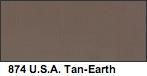 Vallejo USA Tan Earth Matte
