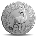 50 Euro Jahr der Ziege 2015 PP