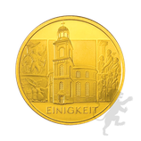 """BRD 100 Euro Gold 2020 Einigkeit """"J"""""""