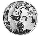 Panda China 2021 Silber 30 Gramm
