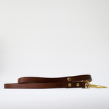 Fetch&Follow Skinny Leather Lead Brown