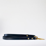 Fetch&Follow Skinny Leather Lead Navy