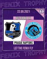 FENIX Trophy HFC Falke - Prague Raptors 22.09.2021  19:00 Uhr Wolfgang-Meyer-Sportanlage