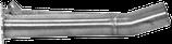 Raccordo inox per silenziatore Kawasaki ZX10-R '04/05 Giannelli/Arrow