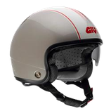 CASCO GIVI CAFE' RACER SILVER-WHITE