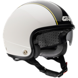 CASCO GIVI CAFE' RACER WHITE-BLACK