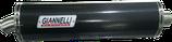 Terminale Yamaha R1 '98/01 ovale carbonio racing + raccordo inox.