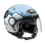 CASCO GIVI FLAG LIGHT BLUE