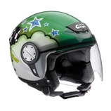 CASCO GIVI FLAG LIGHT GREEN