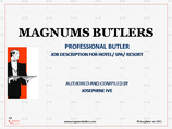Professional Butler Description (eDocument)