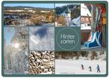 Postkarte Hinterzarten Dutzend Winter