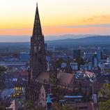 Fotoklotz Münster mit Vogesenblick