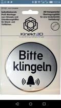 PVC Schild 110 mm  Rund für Türen selbstklebend