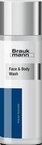 Face & Body Wash, 200 ml Spender - BRAUKMANN