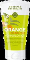Orange mediterran Körperlotion, 150 ml Tube