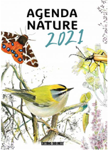 Agenda nature 2021 - Editions Sud Ouest