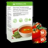 Tomatensuppe mit Kräutern (vegan)