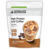 High Protein Iced Coffee Latte Macchiato
