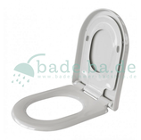 WC Sitz mit Kindersitz Absenkautomatik und D-Form / Soft-Close für Nexo ROCA