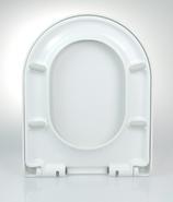 WC Sitz mit Absenkautomatik und D-Form / Soft-Close für Nexo ROCA