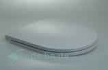 WC Sitz mit Absenkautomatik und D-Form / Soft-Close für O.Novo V&B