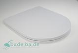 WC Sitz mit Absenkautomatik und D- Form / Absenkautomatik für ME by Starck Duravit