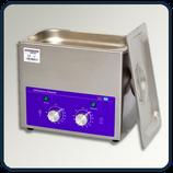 Limpiador por ultrasonido mecánico de 3 L con termostato y reloj.