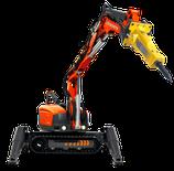 Robots de demolición por control remoto Husqvarna DXR