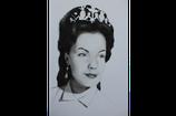 Kaiserin Sissi von Östereich (Romy Schneider) mit Krone