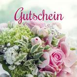 """Blumengutschein """"Betrag"""""""