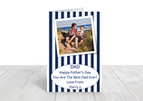 A5 gloss coated father's day card ref FD2
